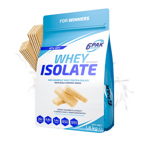 6Pak Whey Isolate 1800 Gr