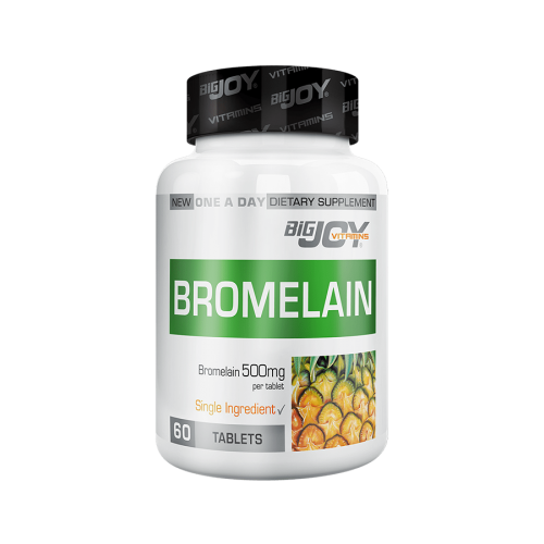 Big Joy Bromelain 60 Tablet