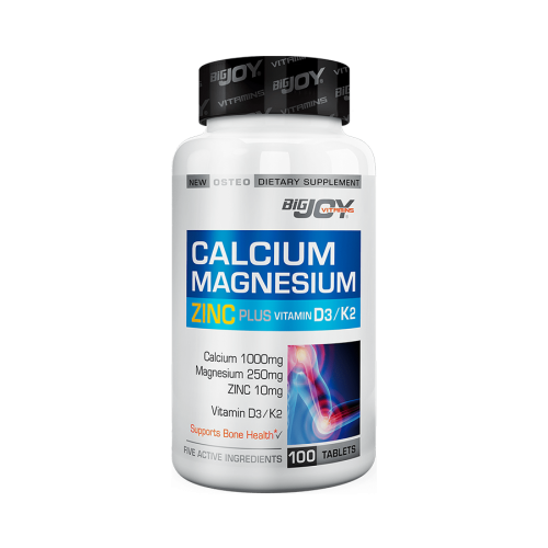 Big Joy Calcium Magnesium Zinc Plus 100 Tablet
