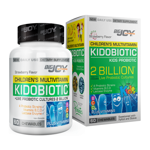 Big Joy Kidobiotic 60 Çiğneme Tableti