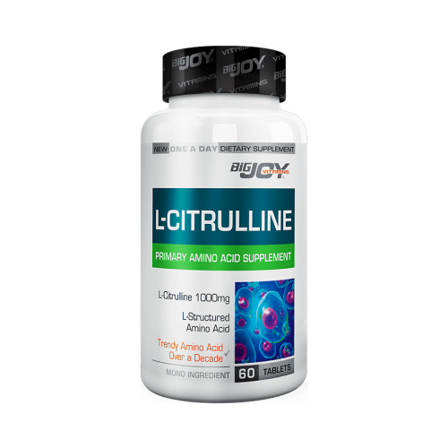 Big Joy L-Citrulline 1000 Mg 60 Kapsül