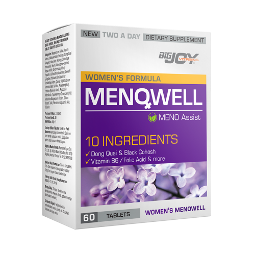 Big Joy Menowell 60 Tablet