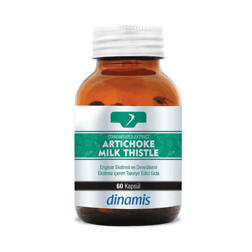 Dinamis Standardized Extract Artichoke+Milk Thistle 60 Tablet