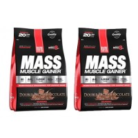 2 x Elite Labs Mass Muscle Gainer 4608 Gr