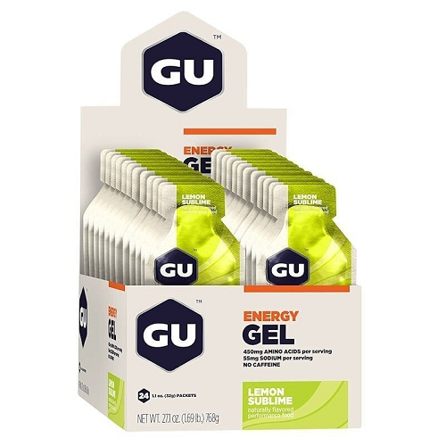GU Energy Gel Lemon Sublime 32 Gr x 24 Packets