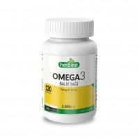 Herbina Omega 3 Balık Yağı 120 Kapsül