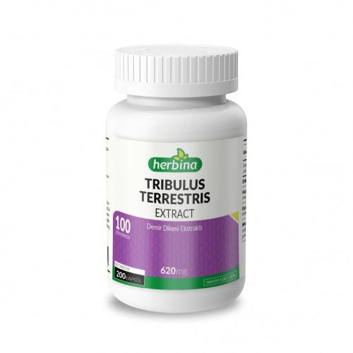 Herbina Tribulus Terrestris Demir Dikeni 620 Mg 200 Kapsül