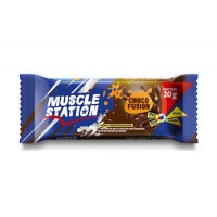 Muscle Station Choco Fusion Protein Bar 65 Gr