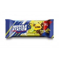 Muscle Station Lime Protein Bar 65 Gr