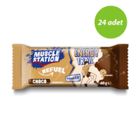 Muscle Station Energy Trail Choco 40 Gr 24 Adet