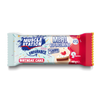 Muscle Station Meal Replacement Bar Birthday Cake 40 Gr