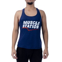 Muscle Station Tank Top Atlet Mavi