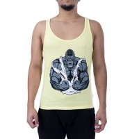 King Kong Tank Top Atlet Sarı