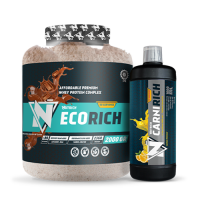 Nutrich Ecorich Whey Protein Complex 2000 Gr + Nutrich Carnirich Thermo 3000 mg 1000 ml