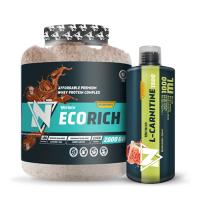 Nutrich Ecorich Whey Protein Complex 2000 Gr + Nutrich L-Carnitine 1500 mg 1000 ml