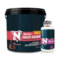 Nutrich Mass Gainer 6000gr + Nutrich Argi-Zma 100 Kapsül