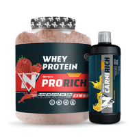 Nutrich Prorich Whey Protein 2310 Gr + Nutrich Carnirich Thermo 3000 mg 1000 ml