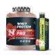 Nutrich Prorich Whey Protein 2310 Gr + Nutrich L-Carnitine 1500 mg 1000 ml