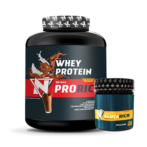Nutrich Prorich Whey Protein 2310 Gr + Nutrich Glutarich 200 Gr