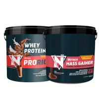 Nutrich Prorich Whey Protein 3500 Gr + Nutrich Mass Gainer 6000 Gr