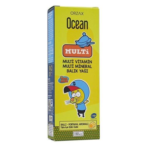 Ocean Omega 3 Multi Şurup 150 ml