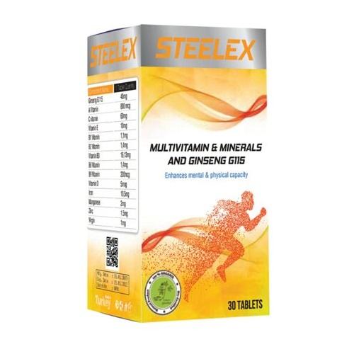 Steelex Multivitamin Mineral 30 Tablet