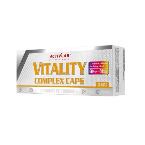 Activlab Vitality Complex Multivitamin 60 Kapsül