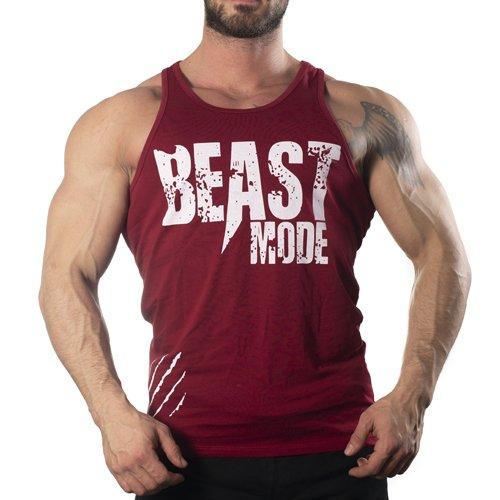 Beast Mode Tank Top Atlet Bordo