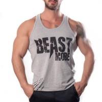 Beast Mode Tank Top Atlet Gri