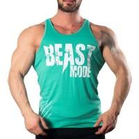 Beast Mode Tank Top Atlet Açık Yeşil