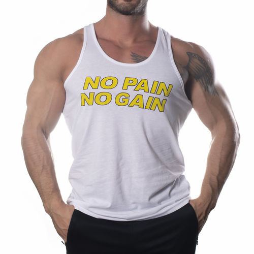 Aloprotein No Pain No Gain Tank Top Atlet