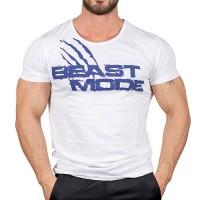 Beast Mode T-Shirt Beyaz