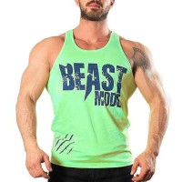 Beast Mode Tank Top Atlet Sarı