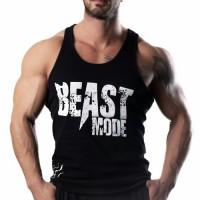 Beast Mode Tank Top Atlet Siyah