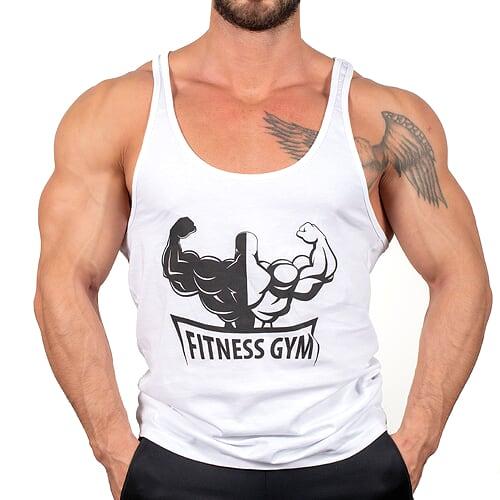 Fitness Gym İnce Askı Tank Top Atlet