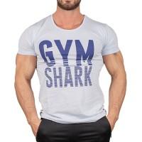 Gym Shark T-Shirt Buz Mavisi
