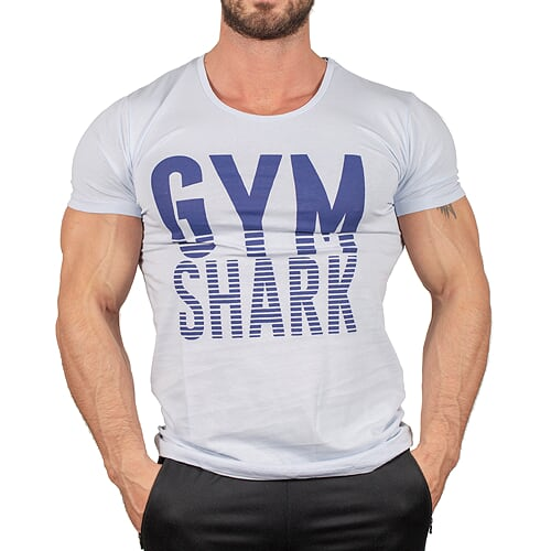 Gym Shark T-Shirt Buz Mavisi