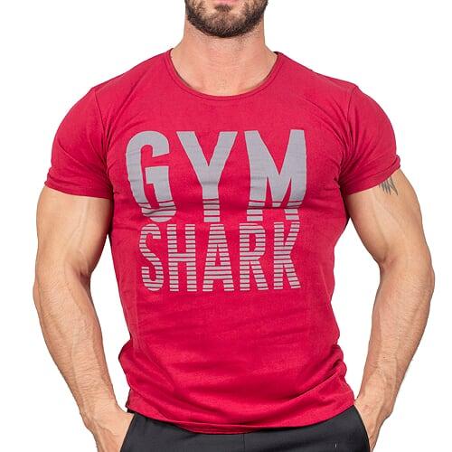 Gym Shark T-Shirt Gül Kurusu