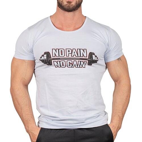No Pain No Gain T-Shirt Buz Mavisi