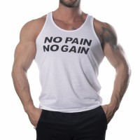 Nutrich No Pain No Gain Tank Top Atlet