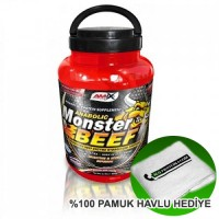 Amix Monster Beef Hydrolize Protein 2200 Gram + Havlu