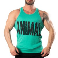 Animal Tank Top Atlet Açık Yeşil