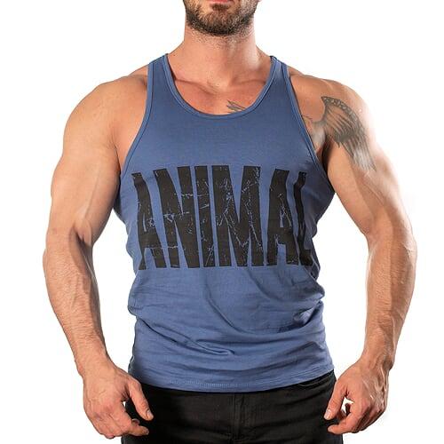 Animal Tank Top Atlet Mavi
