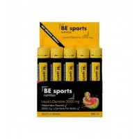 BE Sports Liquid L-Carnitine 3000 mg 20 Ampul