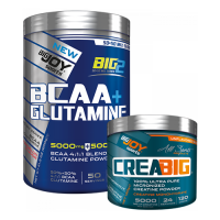 Big Joy BIG2 Bcaa + Glutamine 600 Gr + Creabig Powder 120 Gr