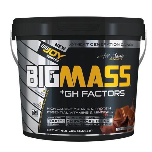 Big Joy Big Mass Gainer + GH Factors 3000 Gr