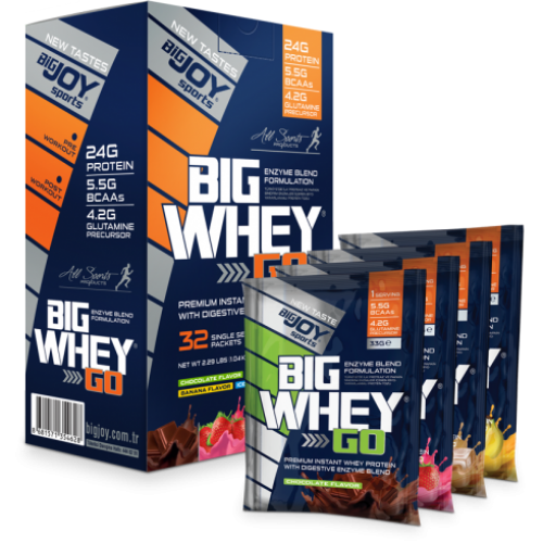 Big Joy Big Whey Go Protein 32 Sachet