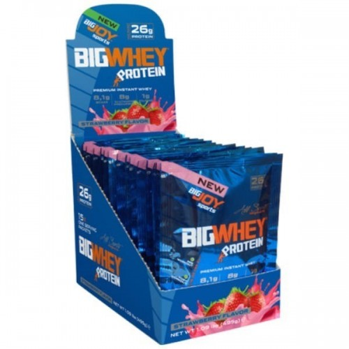 Big Joy Big Whey Protein 495 Gr 15 Sachet