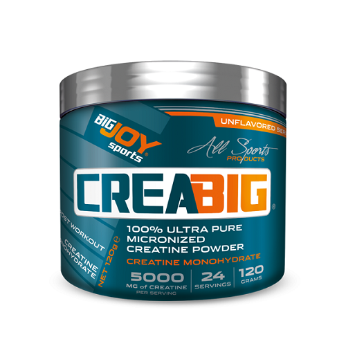 Big Joy Crea Big %100 Ultra Pure Micronized Creatine Powder 120 Gr