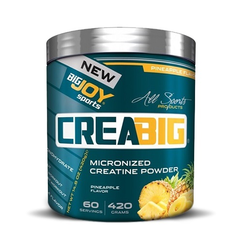 Big Joy Creabig Micronized Creatine Powder 420 Gr